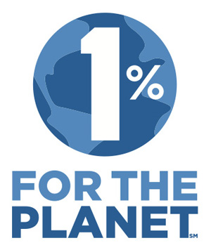 1% for the planet(1%フォー・ザ・プラネット)ロゴ